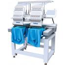 Britex BR-1202C - Промышленная двоголовая 12ти игольная вышивальная машина, с полем вышивки 450x400 мм