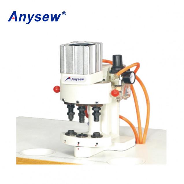 Пресс пневматический для установки фурнитуры Anysew AS-Q3