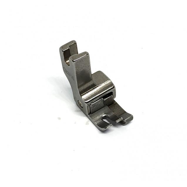 Лапка для отстрочки края подпружиненная правая CR 1\32 ( 0,8мм ) укороченная