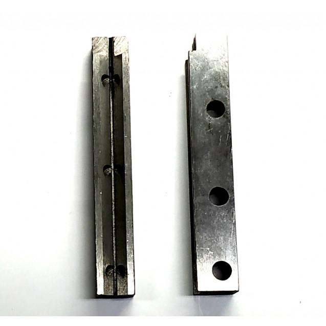 Направляющие бегунка на вертикальный раскройный нож KM type