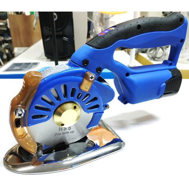 Дисковый раскройный серво нож на аккумуляторе Worlden RCS-100B