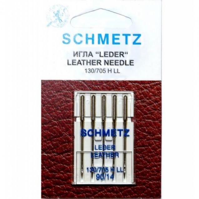 Иглы для кожи Schmetz №90