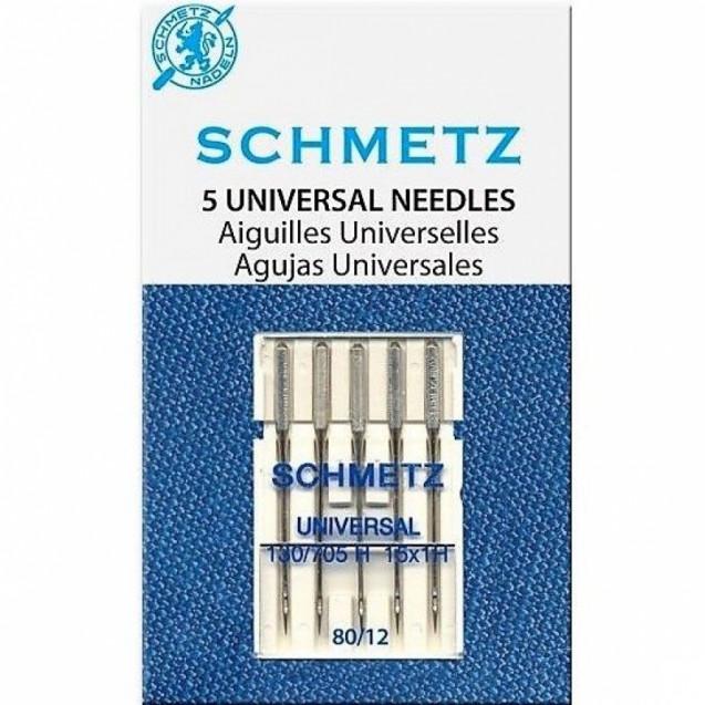 Иглы универсальные Schmetz №80