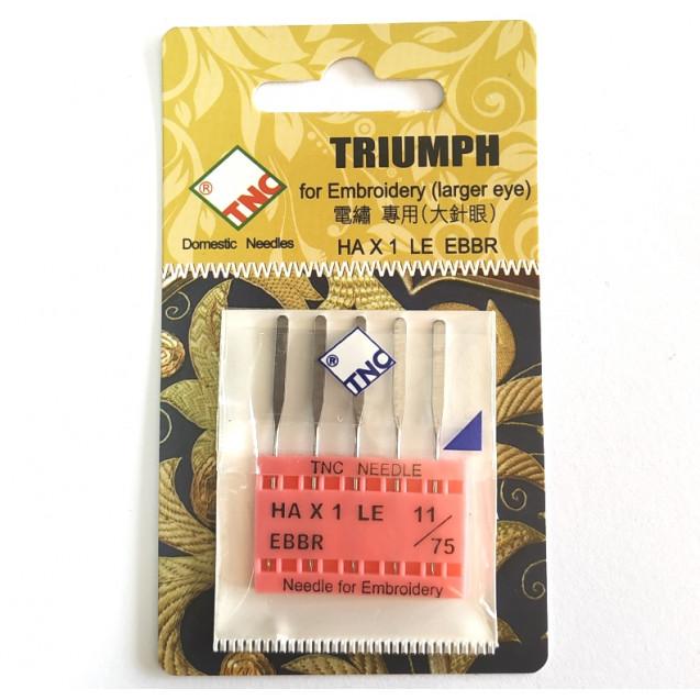 Иглы для вышивки TNC Embroidery №75
