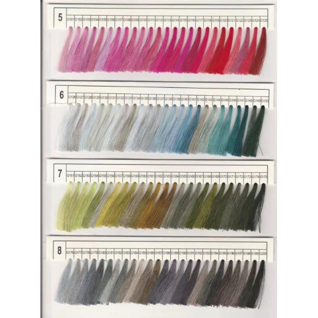 Вышивальные нитки JULI polyester #G314 120D\2 5000m