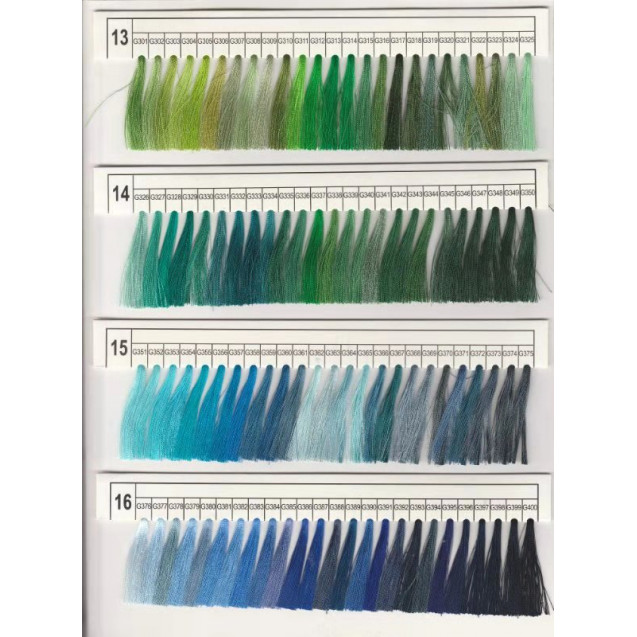 Вышивальные нитки JULI polyester #G386 120D\2 5000m