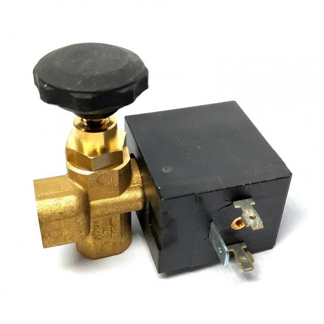 "Электромагнитный клапан для утюга Silter 1\4"" с регулятором"