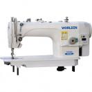 Прямострочная промышленная швейная машина с прямым сервоприводом, средние и тяжелые ткани Worlden WD-8700HD на 7 мм