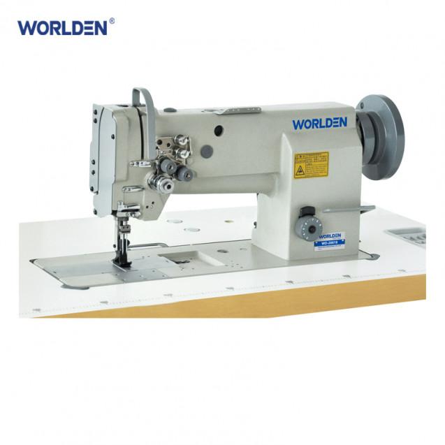 Двухигольная промышленная машина с тройным продвижением материала Worlden WD-20618