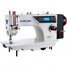 Прямострочная промышленная машина с прямым сервоприводом и автоматикой, легкие и средние ткани Worlden WD-W6-D4 на 5 мм
