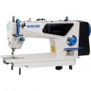 Прямострочная промышленная машина с прямым сервоприводом и автоматикой, средние и тяжелые ткани Worlden WD-W7-HD4 на 7 мм