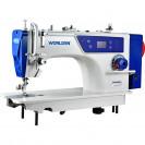 Прямострочная промышленная машина с прямым сервомотором, легкие и средние ткани на 7 мм Worlden WD-W9H