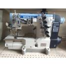 Промышленная распошивальная плоскошовная машина  с автоматикой и обзезкой нити Worlden WD 3500-01CB-UT