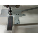 Прямострочная двухигольная промышленная машина цепного стежка с прямым сервоприводом и подсветкой Worlden WD3800D-2