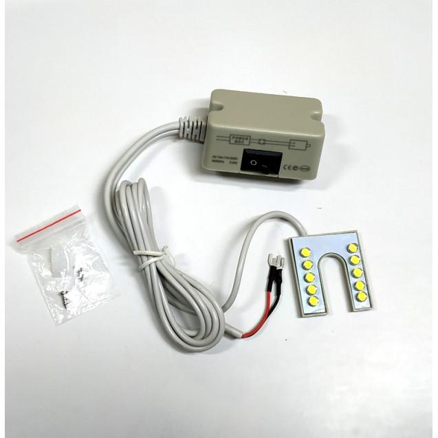 Светильник на магните для швейной машины U10LED (Подкова)