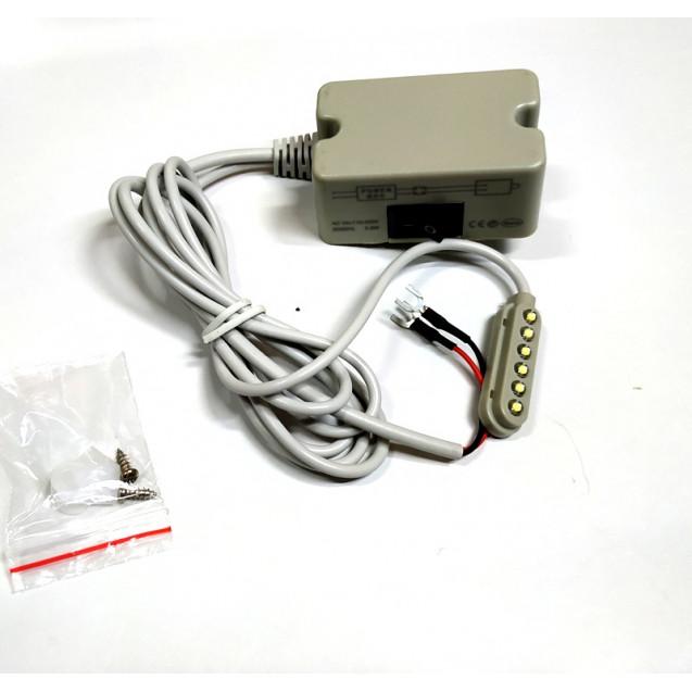 Светильник на магните для швейной машины 6LED (Полоска)