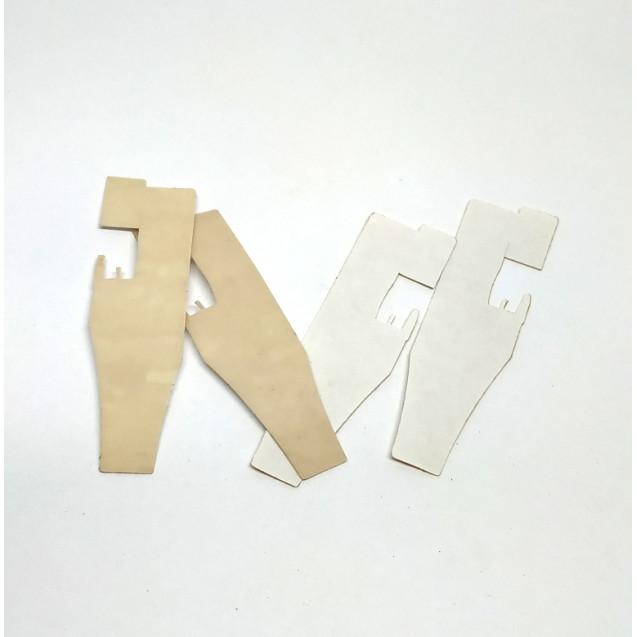 Тефлоновая подошва лапки для промышленного оверлока 747D (наклейка)