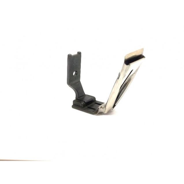 Лапка для двухигольной машины расстояние 3/8 ( 10 мм ) с приспособлением шлевка P 875