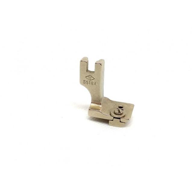 Лапка для пришивания потайной молнии регулируемая S 518A