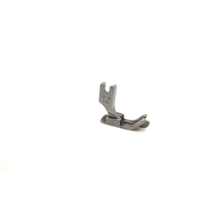 Лапка для отстрочки края с флажком ( ограничитель ) SP-18 1/16  1,6 мм