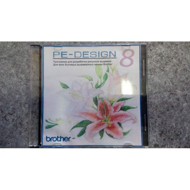 Вышивальная программа Brother PE-Designe 8