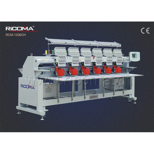 ПРОМЫШЛЕННАЯ ВЫШИВАЛЬНАЯ МАШИНА RICOMA RCM-1208CН-T