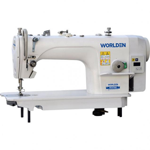 Прямострочная промышленная машина одноигольная Worlden WD 8700