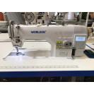 Прямострочная промышленная машина с прямым сервоприводом и автоматикой, средние и тяжелые ткани Worlden WD-9910-HD4 на 7 мм