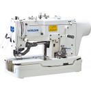 Петельная промышленная швейная машина с прямым сервоприводом WD-781D