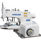 Пуговичная промышленная швейная машина с прямым сервоприводом Worlden WD-1377D