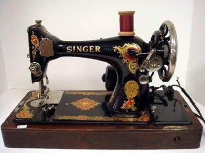 История швейных машин Singer