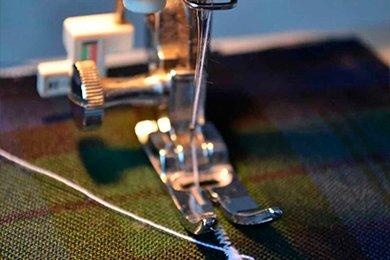 Выполнение петель на швейной машине